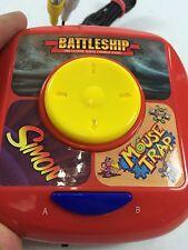 6-in-1 Plug 'N Play Game Controller Battleship Simon Mousetrap Checkers Rollover