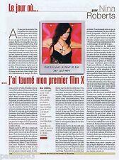 COUPURE DE PRESSE CLIPPING 2007 Nina Roberts (1 page)