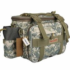 YOGAYET Portable Outdoor Fishing Tackle Bag Multifunctional Lure Waist, Camo