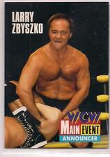 1995 Cardz WCW Main Event Larry Zbyszko