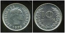 COLOMBIE 10 centavos   1970