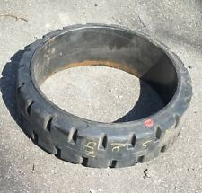 18x8x12 1//8 18X812.125 Forklift Rubber Solid press on Tire