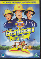 Fireman Sam: The Great Escape of Pontypandy [DVD]  sealed
