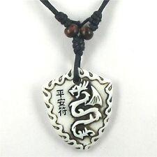 Collana uomo pendente tribale drago / dragone cinese Men chinese dragon pendant