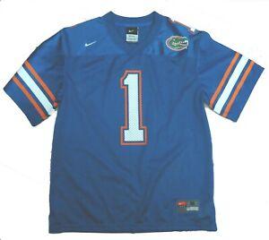 Nike Florida Gators Boys Size Medium 12 14 #1 Mesh Jersey
