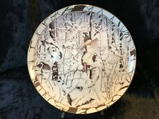 Bradford Collector Plate Diana Casey Silent Journey #6 Wisdom Seeker