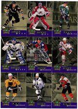 1995-96 Parkhurst International Crown Hockey Series 2 Gold 16-Card Insert Set