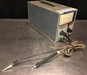 HP 410C Solid State Multi-mode voltmeter. No Power Cord. Cords Provided In Pics