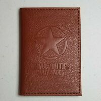 Call of Duty WWII Bifold Leather Wallet Activision 2017 Freedom Star Emblem