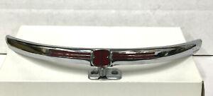 1941 NOS Mercury 8 Upper Grill Chrome Trim Emblem