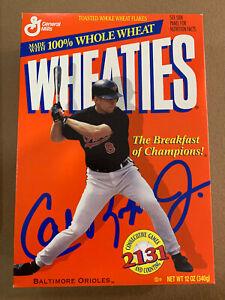 Cal Ripken Jr 1995 Wheaties Cereal Box  (Limited) Orioles Baseball