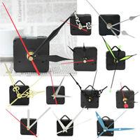 Mouvement Mécanisme Horloge à Quartz Murale Pendule 3 Doré Aiguille Outil DIY