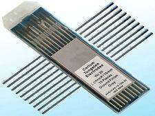 Pre-Ground TIG Tungsten Sharpened Electrodes Grey 2/% Ceriated 10-Pack 1//16 x 1.1