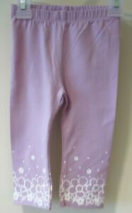 NWT Macy's First Impression Sweet Purple Leggings Girl's Size 18 Month