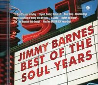 Jimmy Barnes - Best Of The Soul Years (2015 CD) New & Sealed