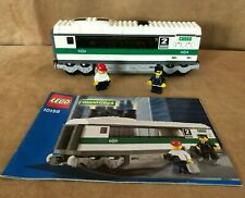 7897 LEGO Complete High Speed Train Car instructions passenger minifigure add on
