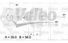 VALEO Alternador para CITROEN SAXO C15 XSARA BERLINGO PEUGEOT 206 106 PARTNER