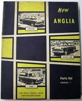 FORD Anglia Saloon Estate Van 1958 #F001557/963 Spare Parts List