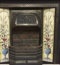 Decorative Cast Iron Fireplace and Open Gas Fire
