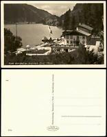 Ansichtskarte Haldensee-Grän Hotel Alpenhof am Haldensee (Tirol 1152 m) 1932