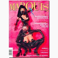 Marquis 14 1998 Fetish Magazin Lack Latex Gummi BDSM EROTIK Peter Czernich