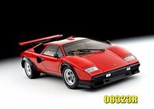 LAMBORGHINI COUNTACH LP500S RED 1/18 KYOSHO 08323R