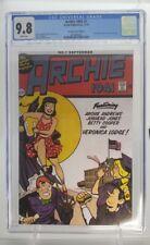 Archie 1941 #1 CGC 9.8 Sensation Comics #1 Wonder Woman Homage Variant Limited