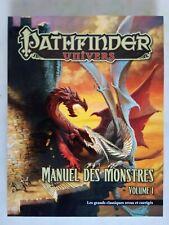 Manuel des Monstres - Volume 1 les classiques - PATHFINDER - BlackBook Paizo