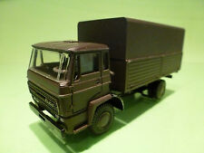 LION CAR  DAF  TRUCK DUTCH ARMY - ARMY GREEN 1:50 - RARE - VERY GOOD CONDITION