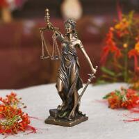 Lady Justice/ Blind Lady Scales of Justice Statue Law Lawyer Attorney Judge Idol