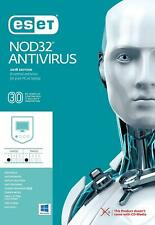 Eset Nod32 Antivirus V12 2019 - 1 Year / 1 PC Key Global