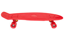 AscotDrifting Cruiser Skateboard 27� Red With Red Wheels