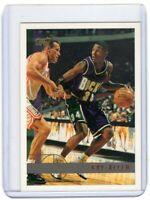 1997 TOPPS BASKETBALL CARD # 61 - HOF RAY ALLEN - MILWAUKEE BUCKS