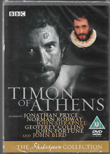 TIMON OF ATHENS BBC SHAKESPEARE COLLECTION GENUINE R2 DVD JONATHAN PRYCE NEW
