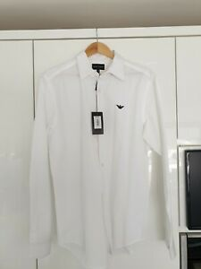 mens armani Large long sleeve shirts BNWT