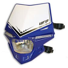 Ufo Maschera con lampada Faro Stealth universale contrassegno e blu