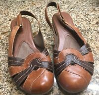 3ad26222e49 Natural Soul Women s Ilena Round Toe Leather Loafers AB4 Brown Size ...