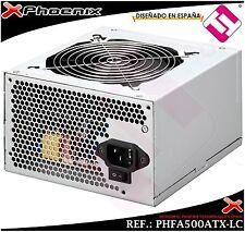 FUENTE DE ALIMENTACION PHOENIX ATX 500W SATA VENTILADOR 12CM 20+4  12V 4 PINES