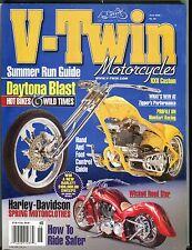 V-Twin Magazine June 2006 Harley-Davidson EX 050117nonjhe