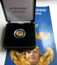 ANGEL CHURC 1 Lats Oh, holy Lestene Latvia Lettland 2013 gold coin PROOF Münze