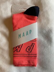 MAAP Coral Outline Cycling Socks S/M