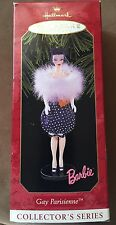 1999 Hallmark Barbie Gay Parisienne Ornament New NIB
