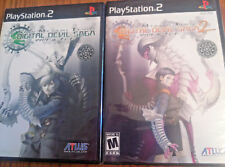 Shin Megami Tensei Digital Devil Saga 1 AND  2 - PlayStation 2 PS2  Two 2 games