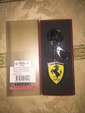OFFICIAL LICENSED PRODUCT FERRARI KEY RING METAL SHIELD HOLOGRAM NIB