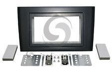 VOLVO XC90 2002-2013 Radio Installation Dash Kit Standard 2DIN METALLIC BLACK*