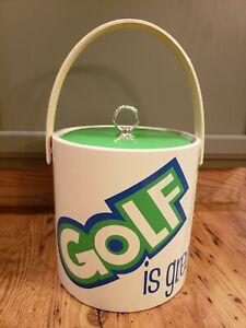 Giacalone Golf Is Great 19th Hole Ice Bucket Barware