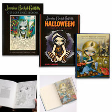 Jasmine Becket-Griffith Colouring Books Set of 3 Fairy Fantasy Bradford Exchange
