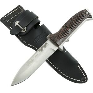 Walther P38 Fighting Knife w/ Leather Belt Sheath WAL50738