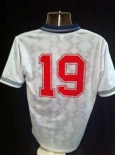 RARE WORLD CUP 1990 ENGLAND FOOTBALL SHIRT GASCOIGNE 19
