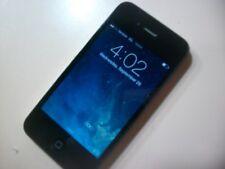 Apple iPhone 4  A1349 (Black) for VERIZON (CDMA) 8GB Tested Working          016